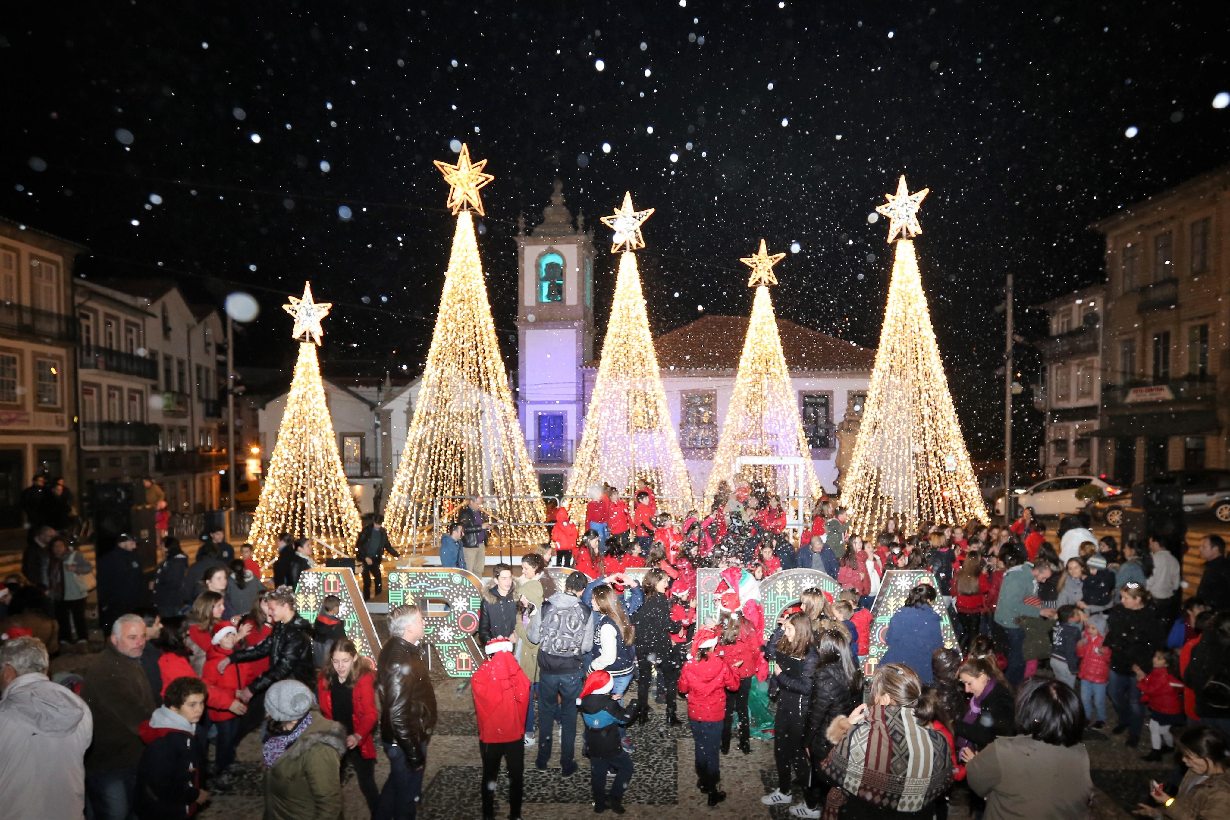 Já é Natal em Arouca