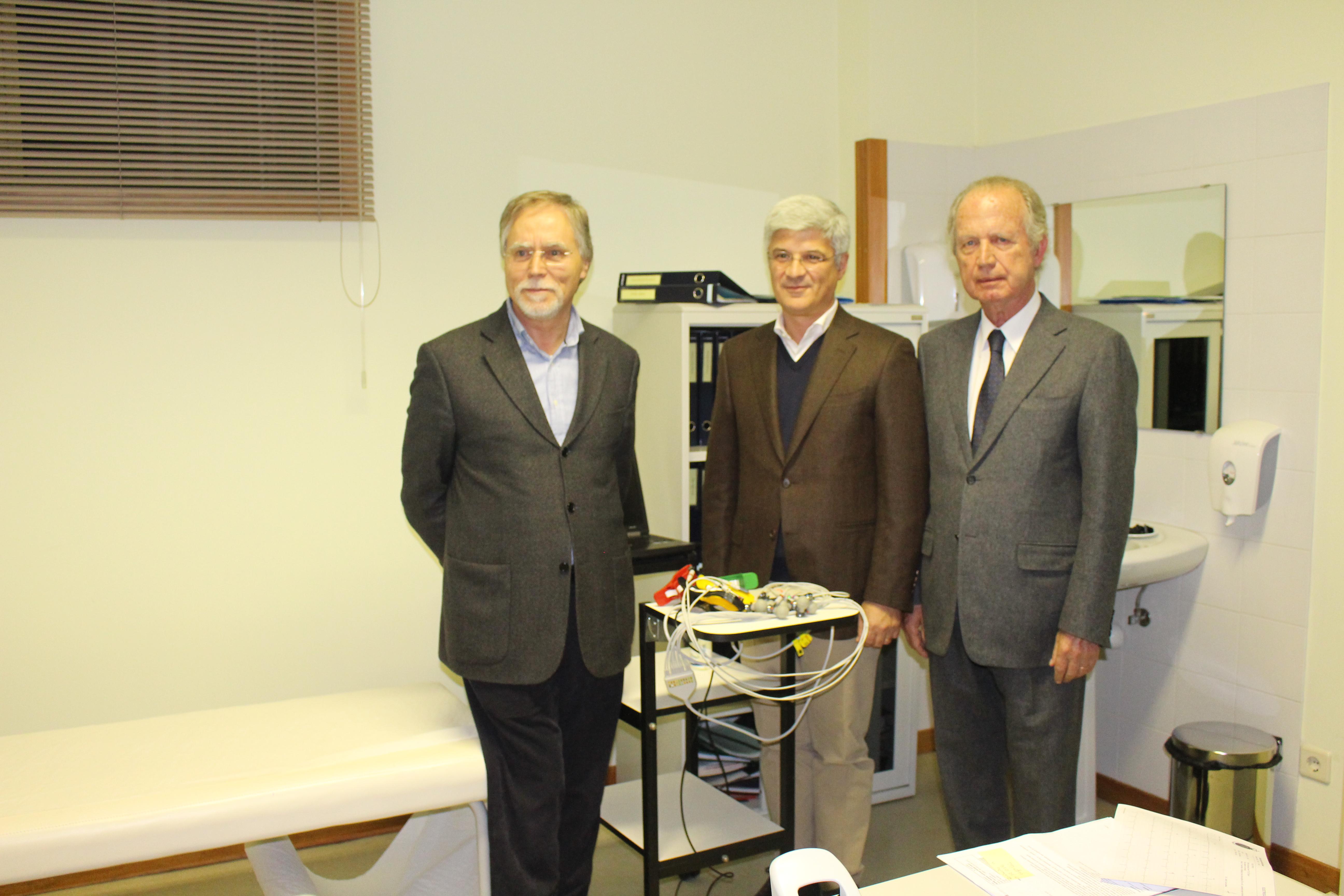 Santa Casa da Misericórdia de Vale de Cambra recebeu aparelho de eletrocardiograma inovador