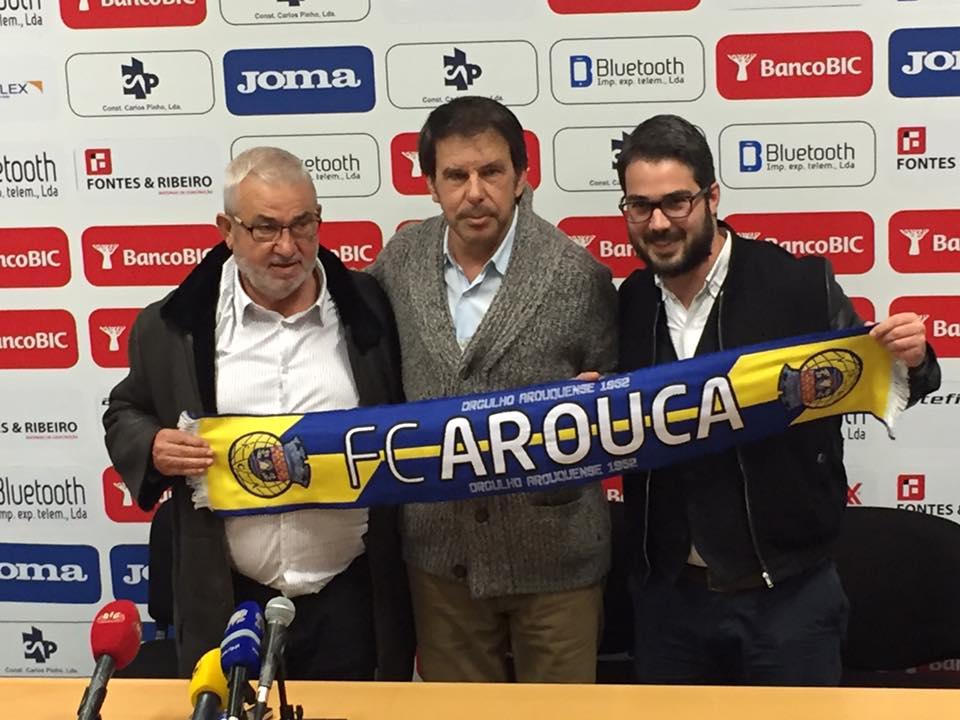 Manuel Machado é o novo treinador do Futebol Clube de Arouca