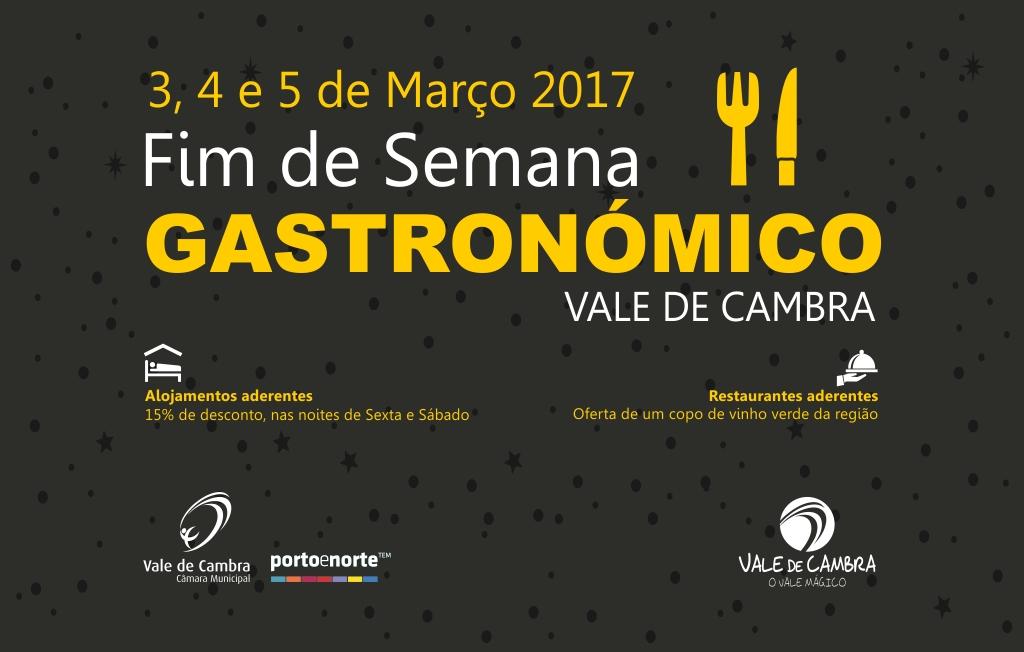 Fim de Semana Gastronómico de Vale de Cambra tem início amanhã
