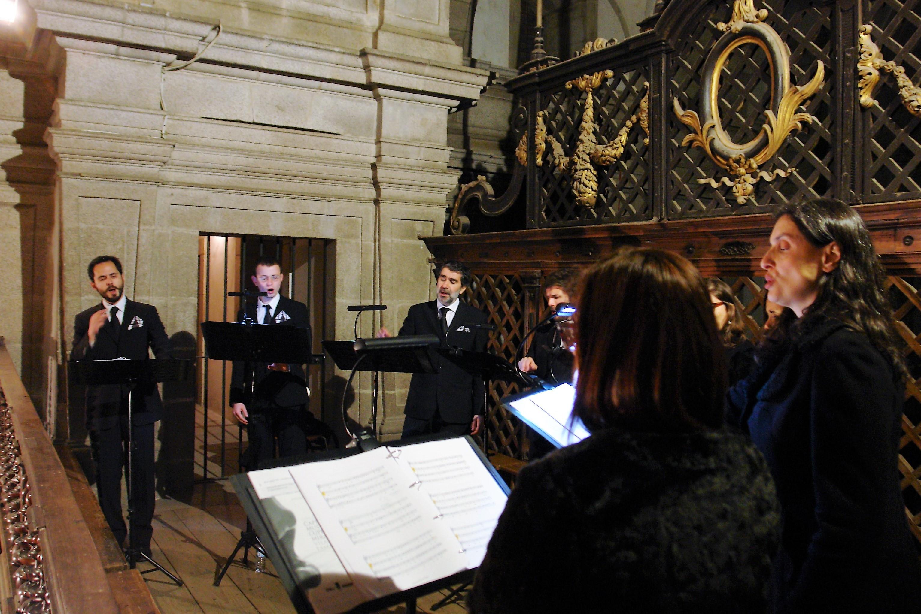 Capella Musical Cupertino de Miranda atuou no Mosteiro de Arouca