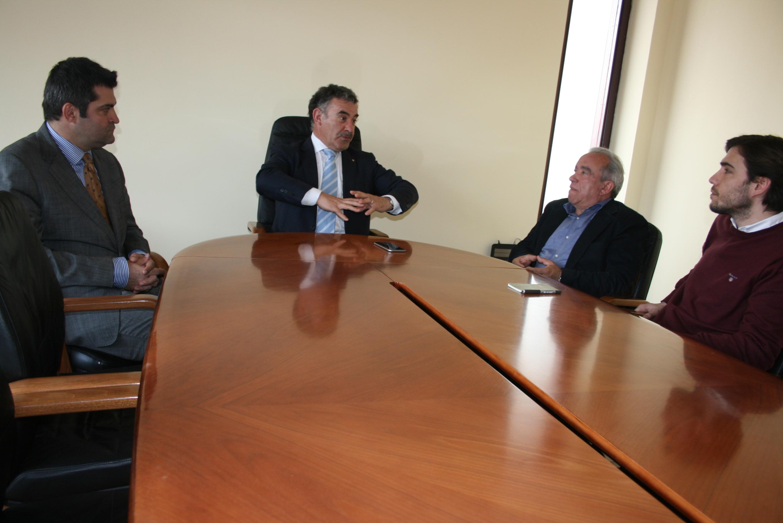AROUCA: Fernando Mendes reuniu com presidente do Conselho Metropolitano do Porto