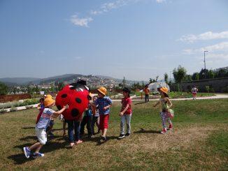 Centro de Educação Ambiental recebeu crianças para ação sobre sementeira
