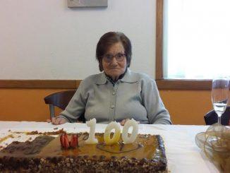 100 anos de vida: Centenária de Mansores de boa saúde