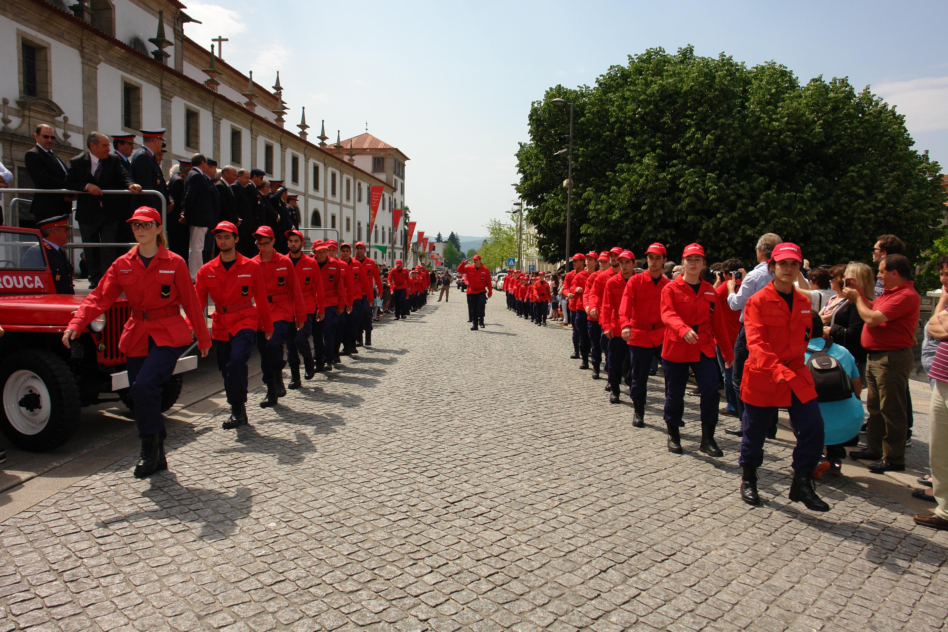 Bombeiros Voluntários de Arouca celebraram 40.º Aniversário