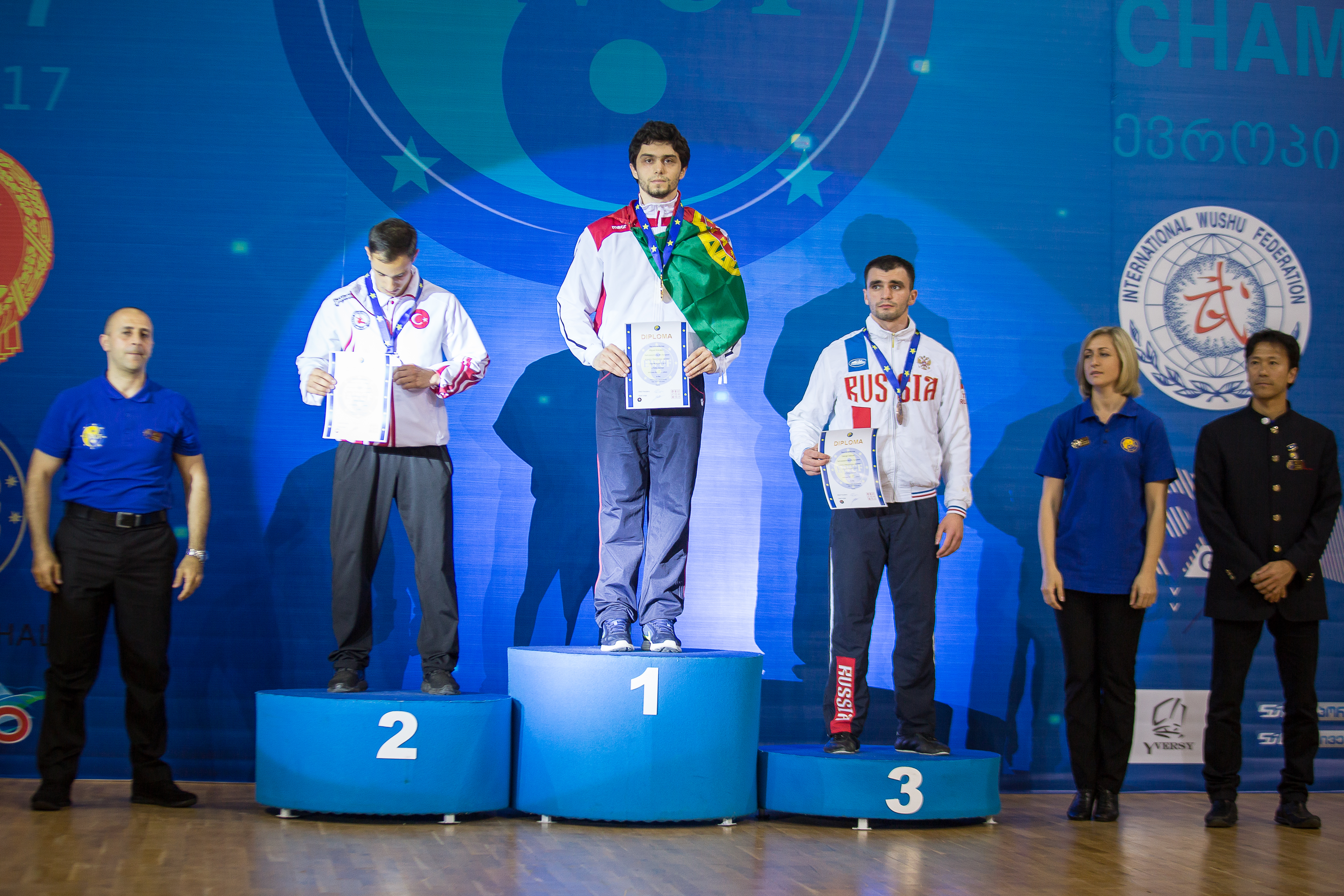 Arouquense Miguel Azevedo novamente campeão da Europa de Kung Fu