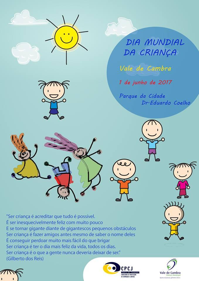 Vale de Cambra assinala Dia Mundial da Criança