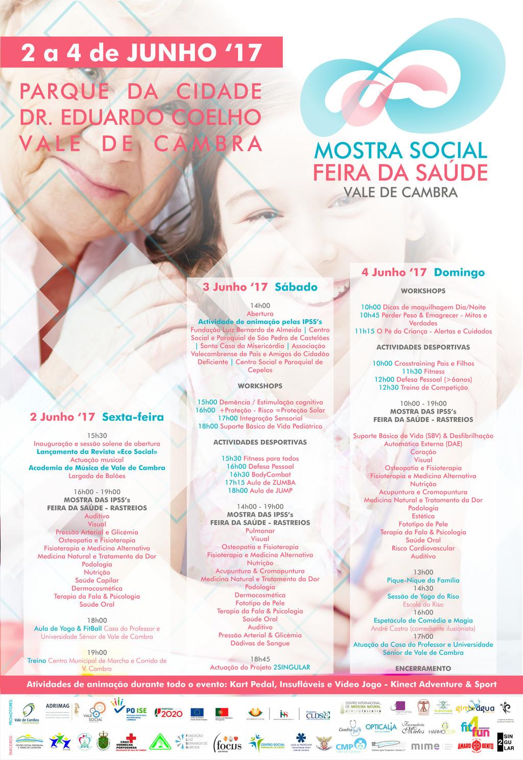 Mostra Social e Feira da Saúde começam amanhã