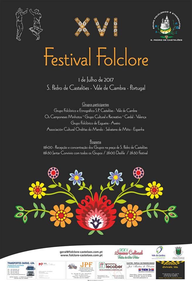 S. Pedro de Castelões promove XVI Festival de Folclore
