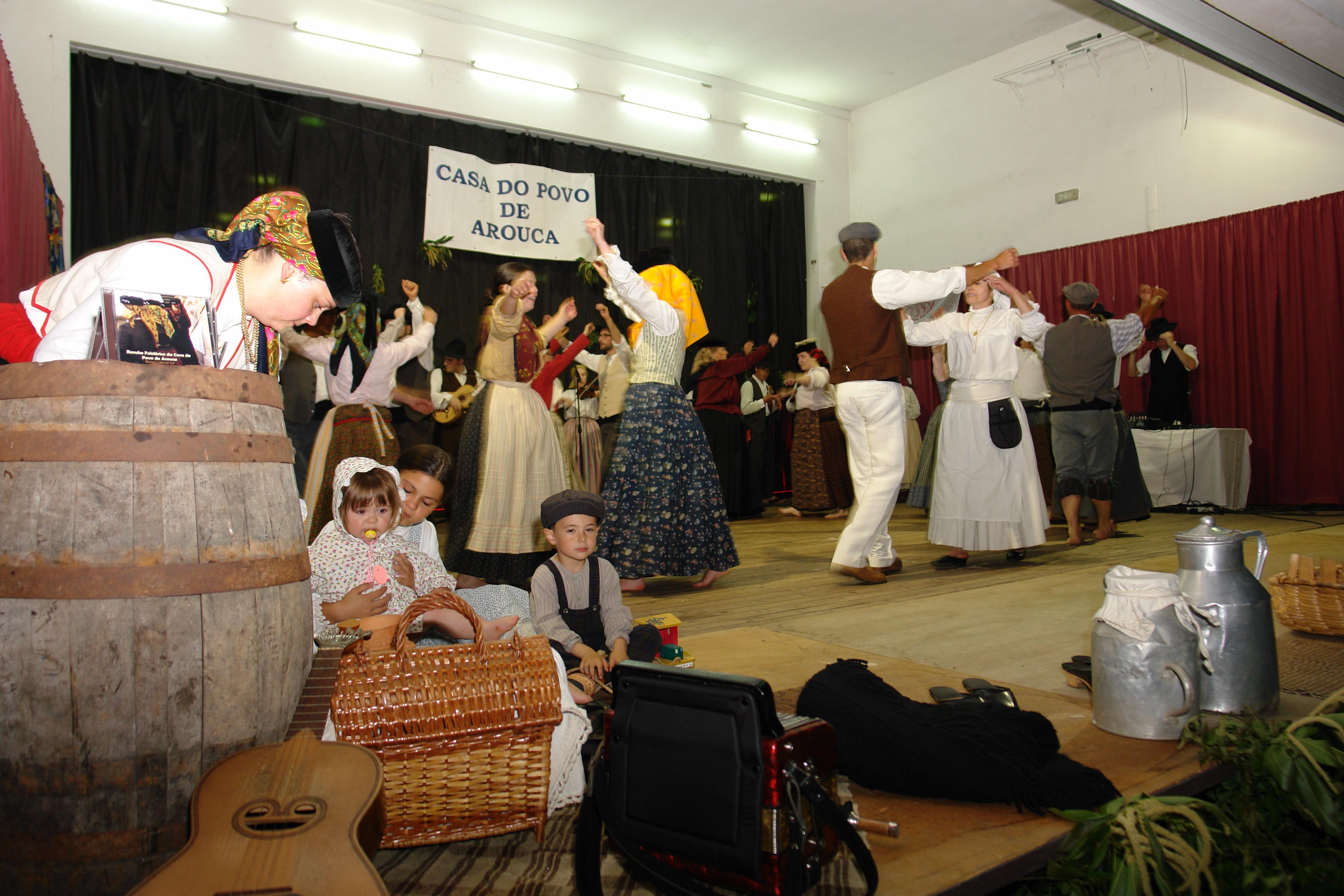 Casa do Povo de Arouca acolheu Arraial de Folclore e Fim de Semana Cultural