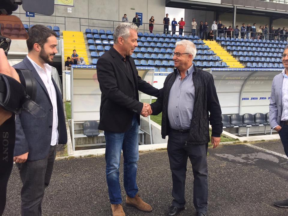 Jorge Costa é treinador do F.C. Arouca