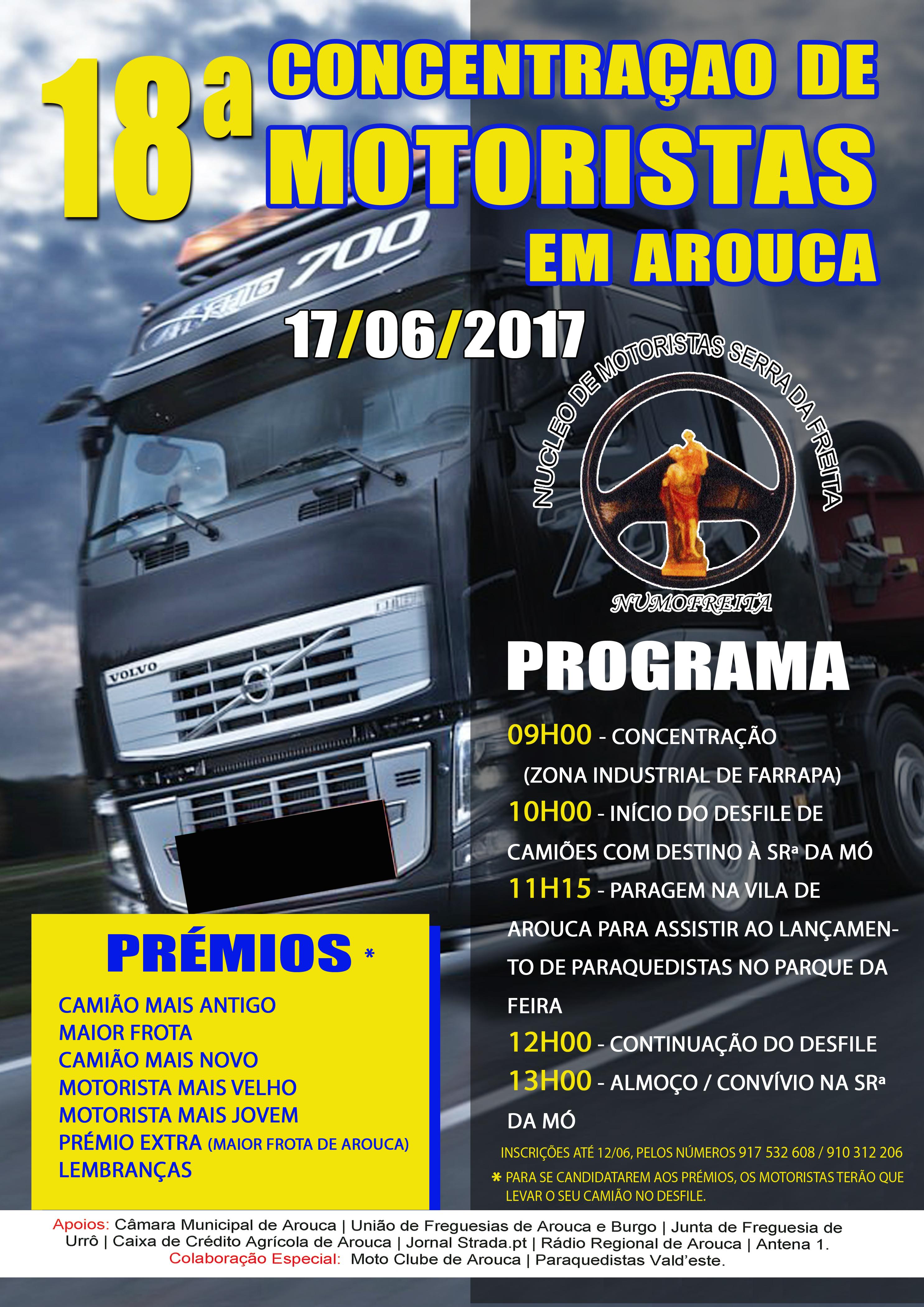 18ª Concentração de Motoristas em Arouca