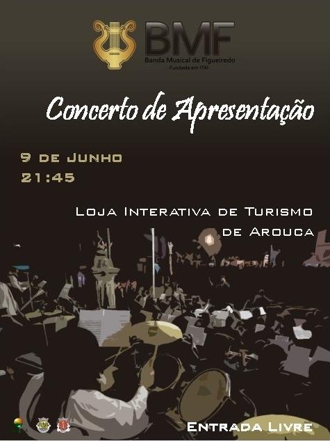 Banda Musical de Figueiredo promove concerto de apresentação