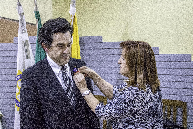 José Eduardo Silvestre é o novo presidente do Rotary Club de Arouca