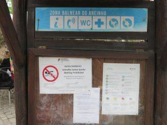 Água da Praia do Areinho interdita desde sexta-feira devido a bactéria
