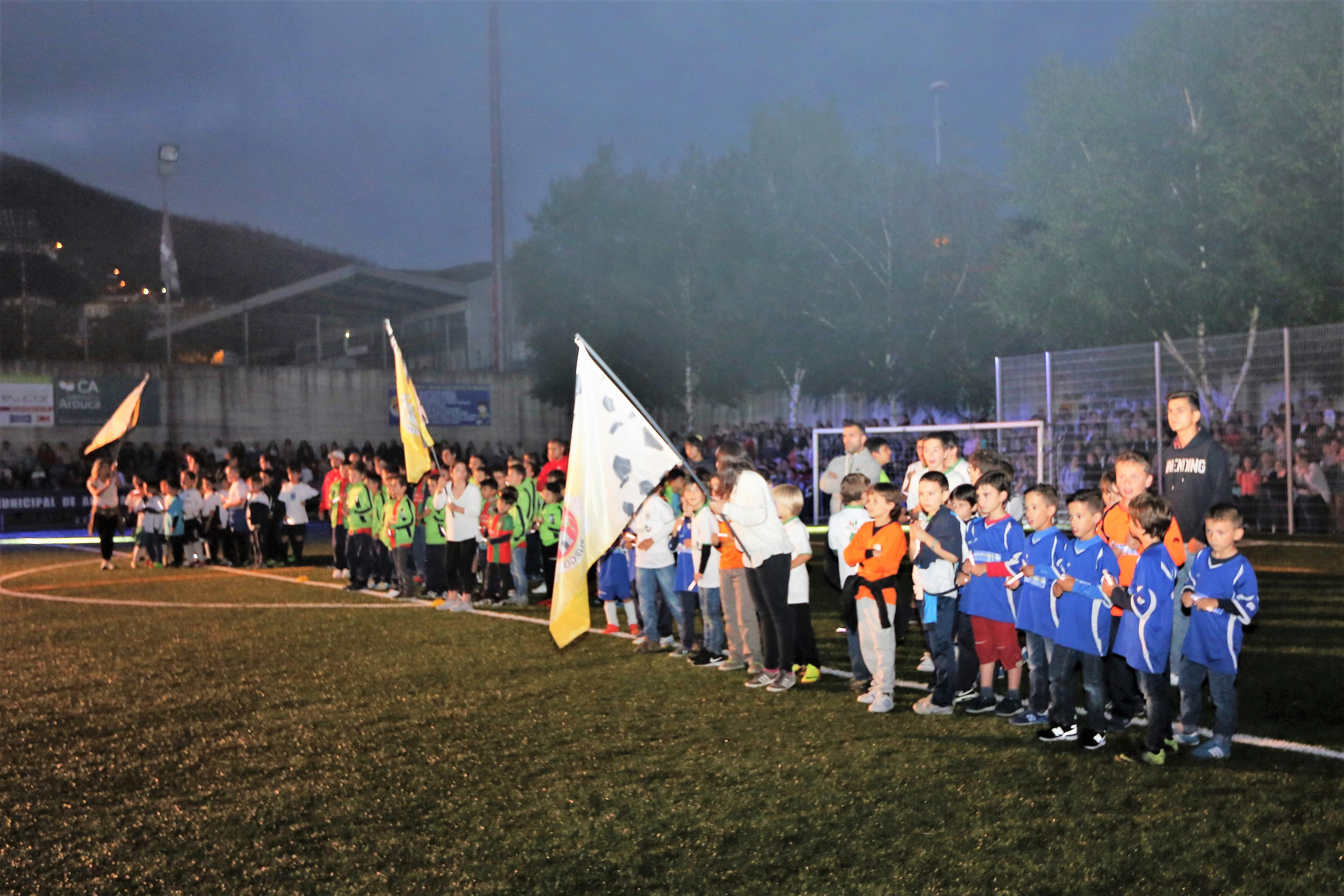 Já rola a bola no 32º Torneio de Futebol Infantil/Juvenil Inter-Freguesias de Arouca