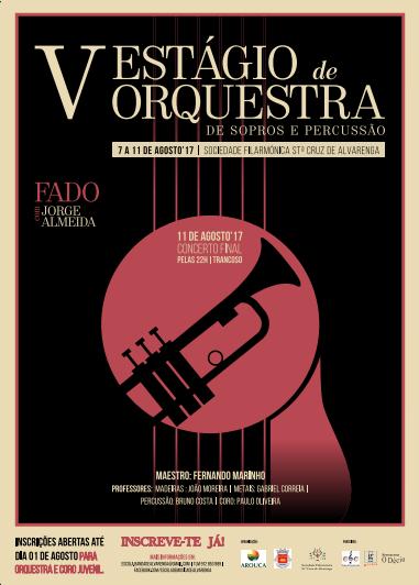 ALVARENGA: V Estágio de Orquestra de Sopros e Percussão