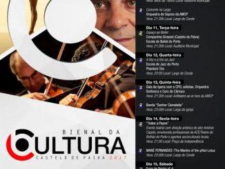 """1ª edição da """"Bienal da Cultura"""" em Castelo de Paiva"""