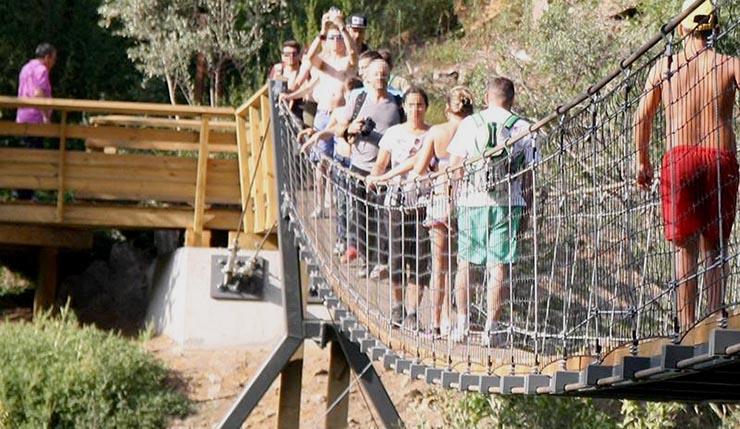 S.O.S. Rio Paiva questiona nova ponte pedonal no Paiva