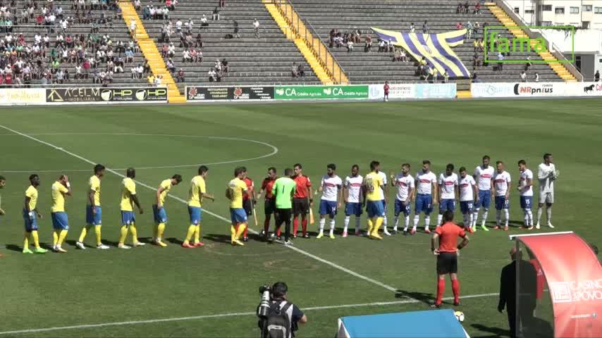 F.C. Arouca: Derrota no primeiro jogo da temporada