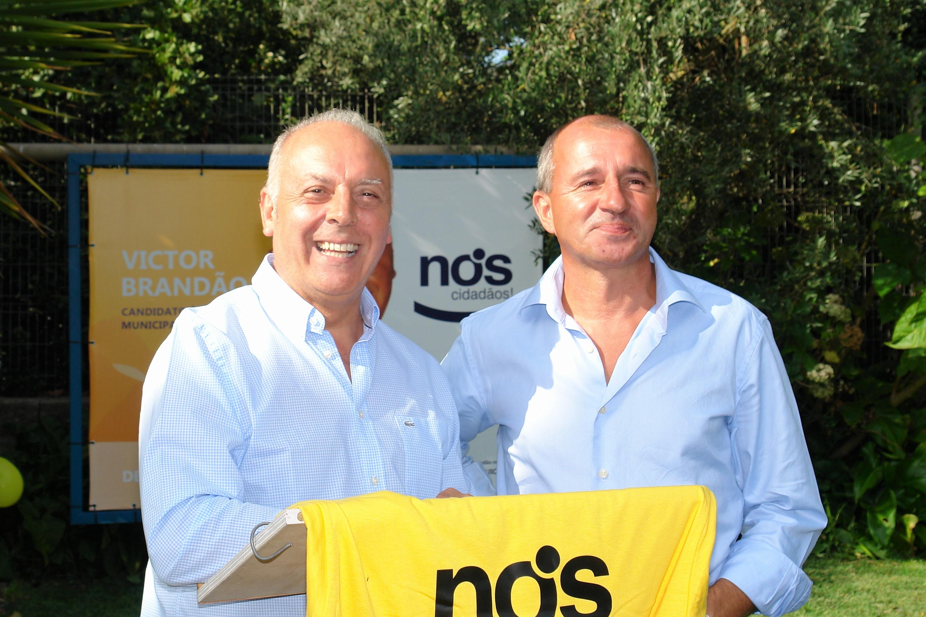Víctor Brandão assume-se como alternativa face à falta de qualidade dos outros candidatos à presidência da Câmara