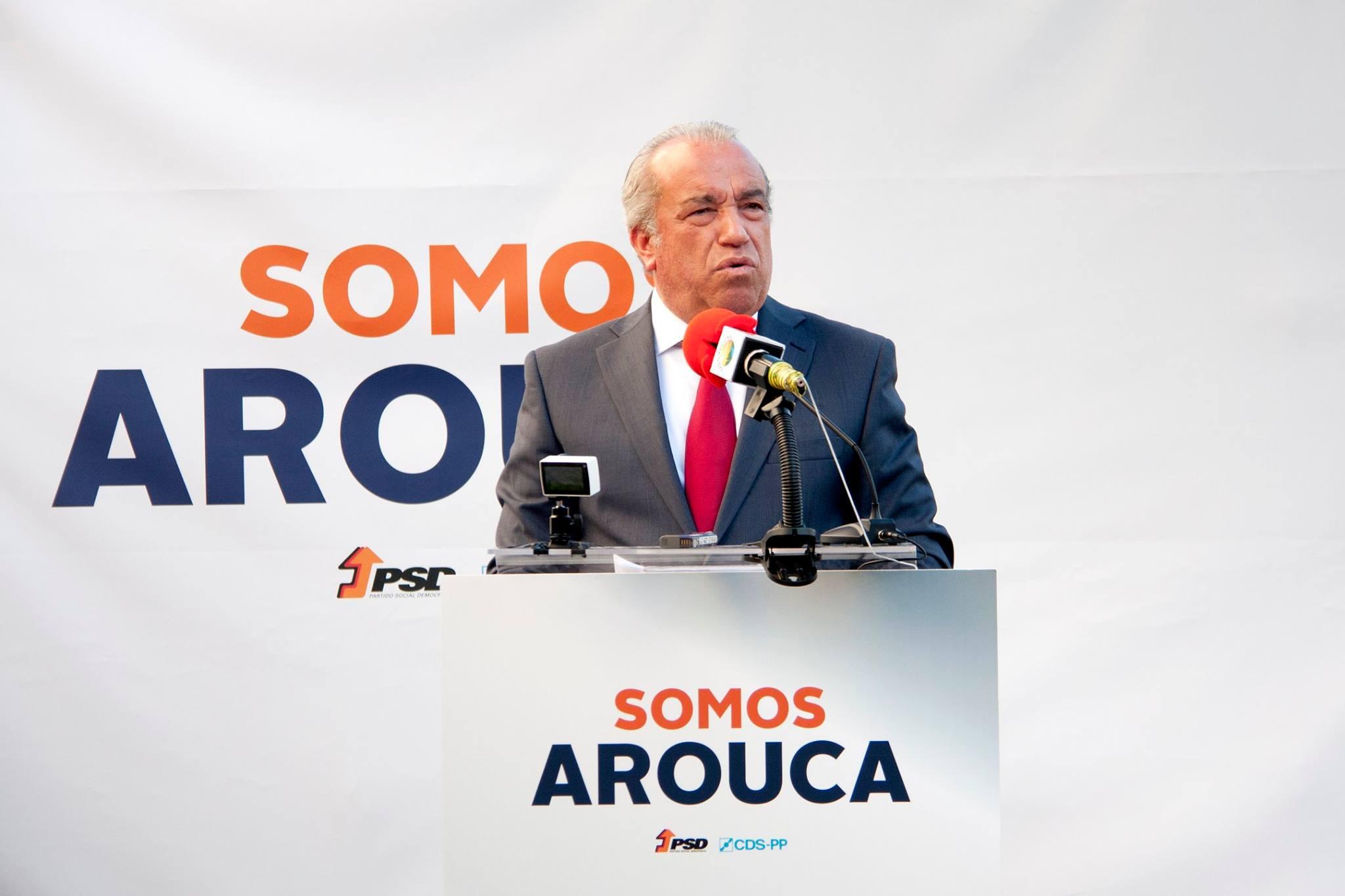 """Fernando Mendes: """"Sou um simples cidadão do mundo preocupado com o povo de Arouca"""""""