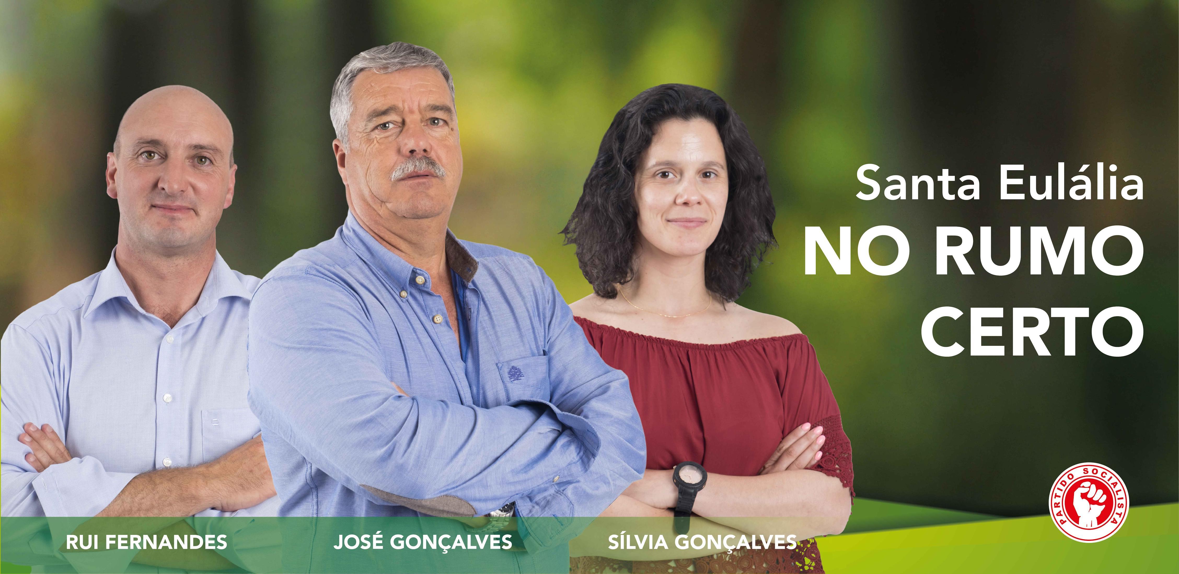 Candidato do PS a Santa Eulália quer colocar a freguesia na rota do desenvolvimento