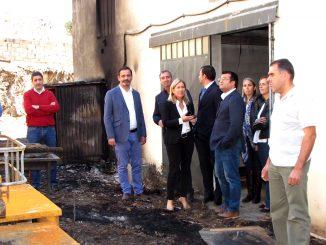 Deputados sociais-democratas visitaram Arouca e Castelo de Paiva após incêndios