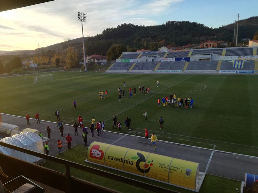 Depois da eliminação na Taça de Portugal, F.C. Arouca venceu em casa