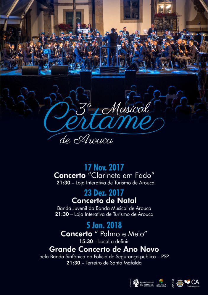 Banda Musical de Arouca promove III Certame Musical
