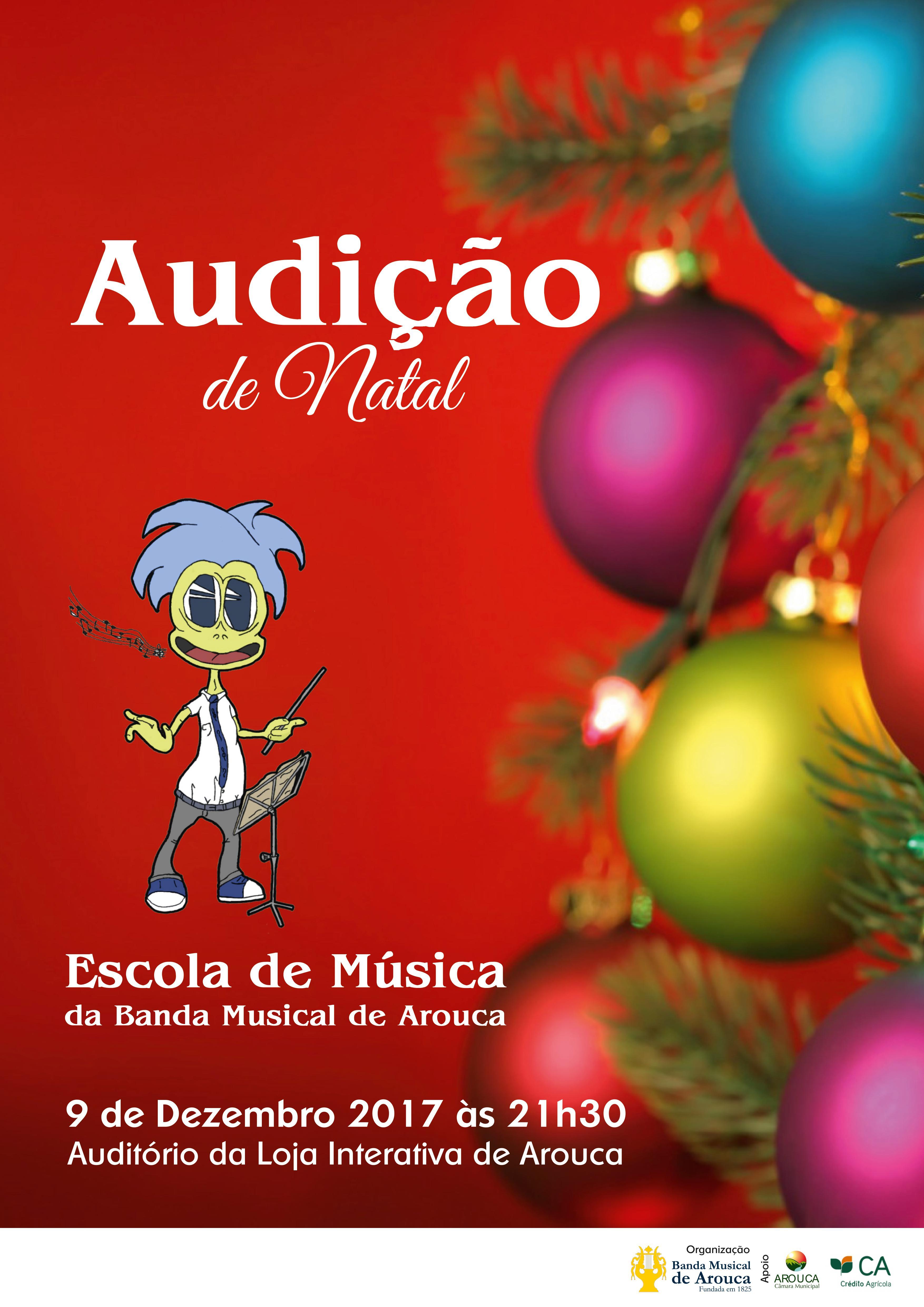Escola de Música da Banda Musical de Arouca promove audição de Natal