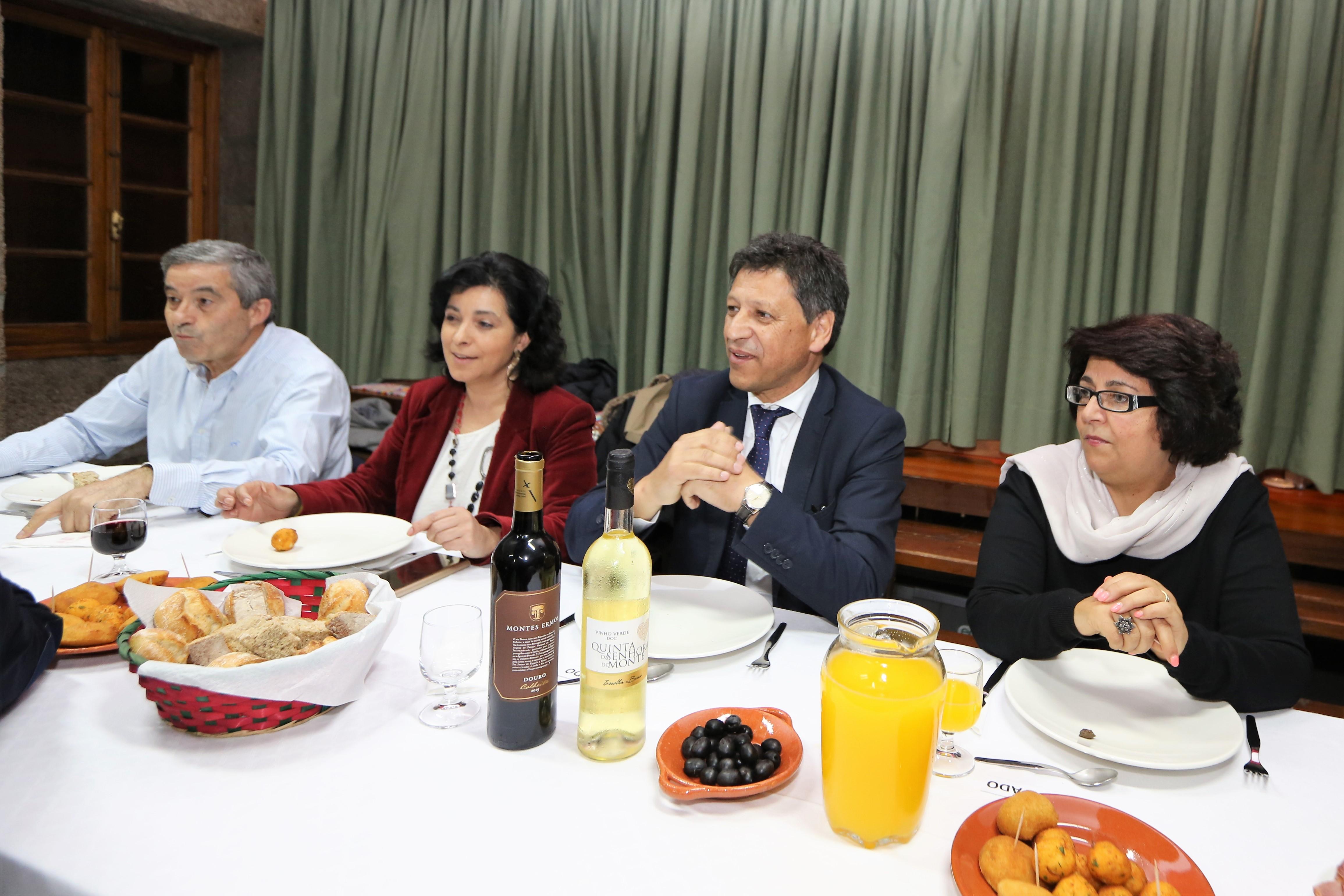 Artur Neves homenageado em jantar do Centro Cultural Recreativo e Desportivo de Santa Maria do Monte
