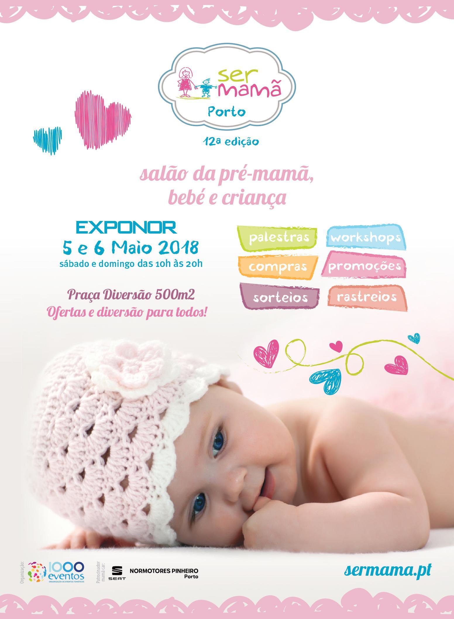 Salão da pré-mamã, bebé e criança decorre este fim-de-semana na Exponor