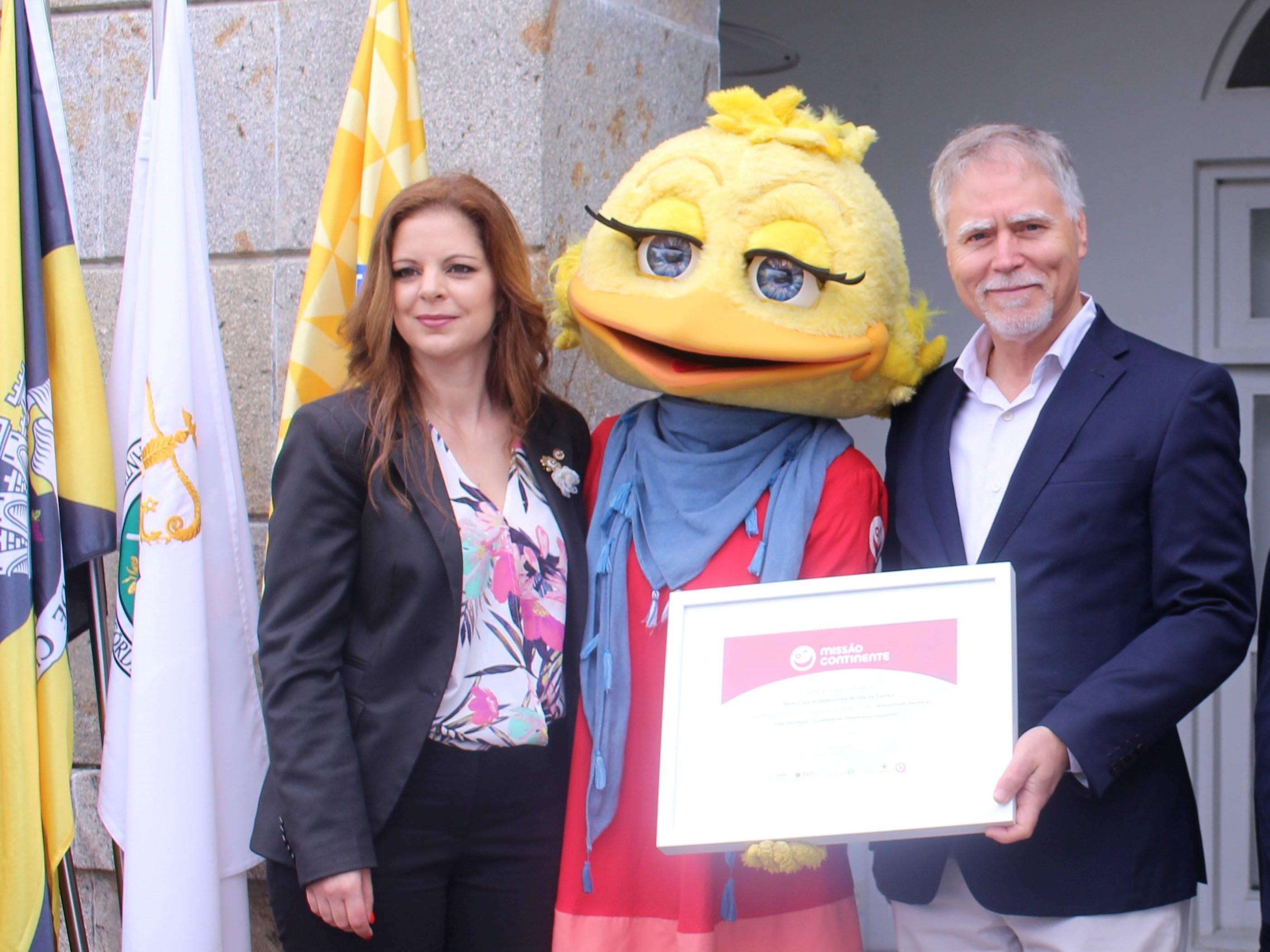 Misericórdia de Vale de Cambra recebeu prémio 'Missão Continente'