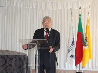 Rotary Club de Arouca homenageou o Prof. Joaquim Brandão de Almeida