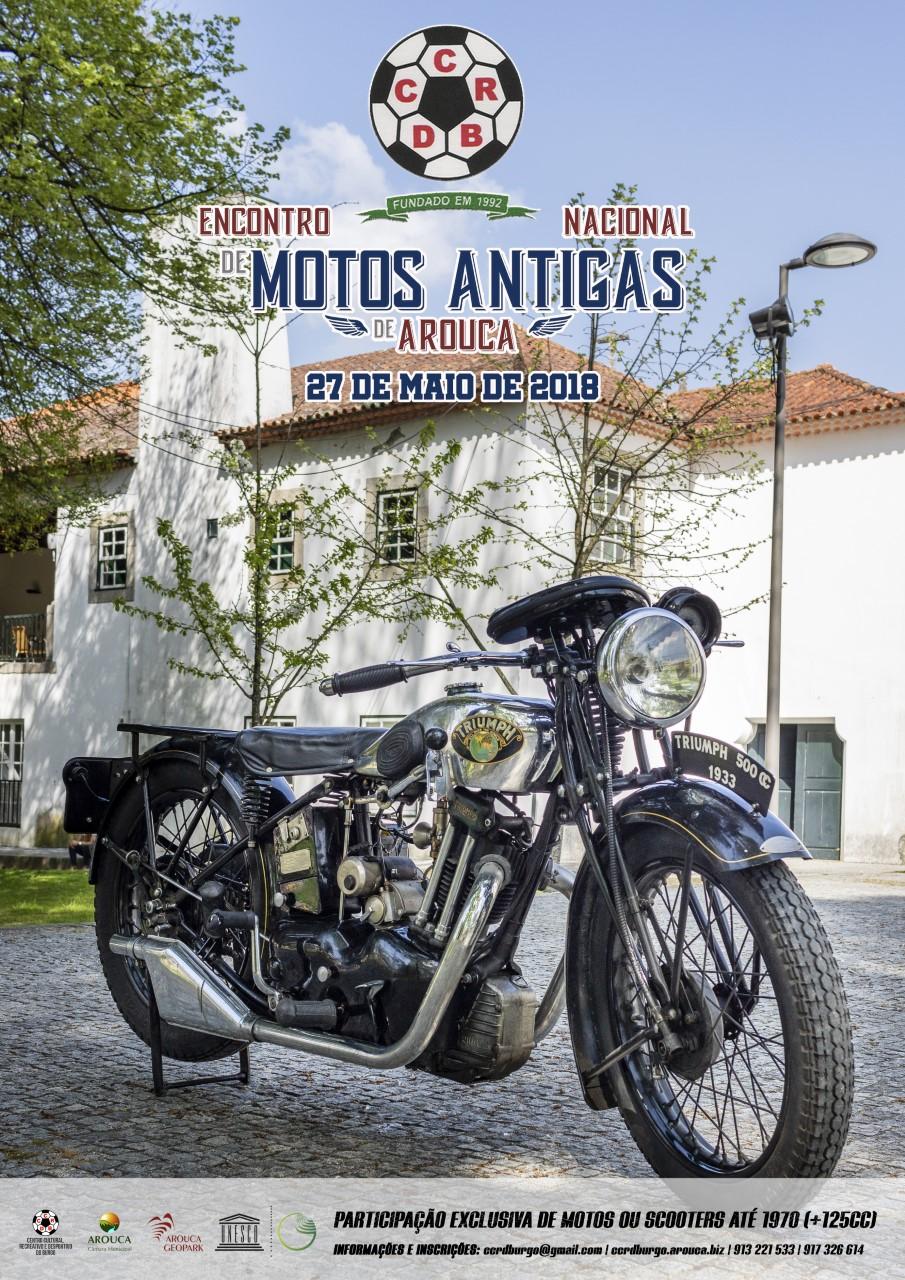 'Encontro Nacional de Motos Antigas de Arouca' realiza-se domingo