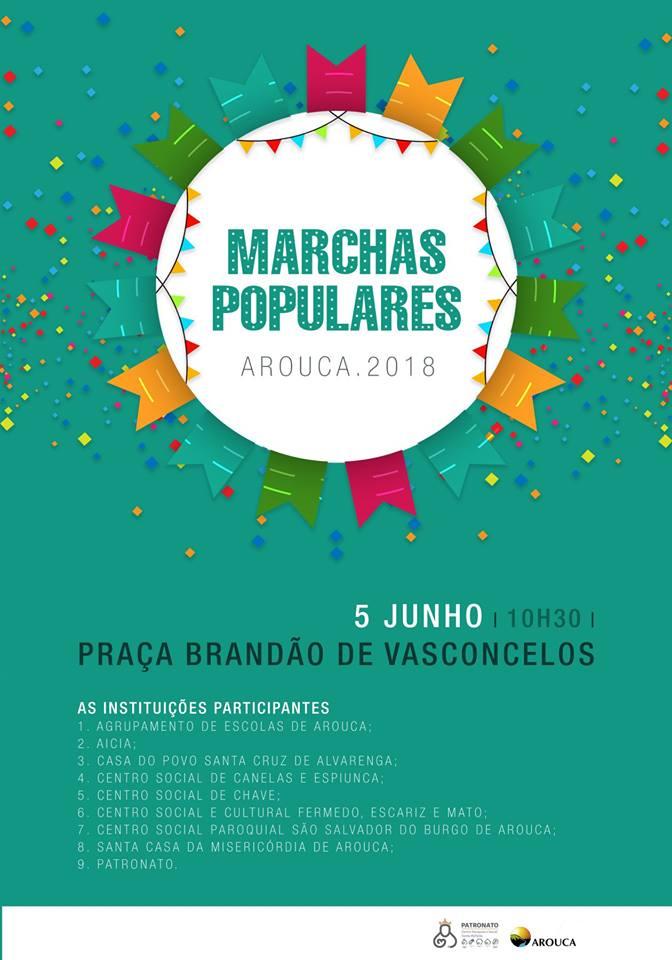 Marchas Populares animam a Praça Brandão de Vasconcelos