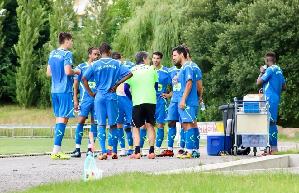 Futebol Clube de Arouca inicia pré-temporada com empate