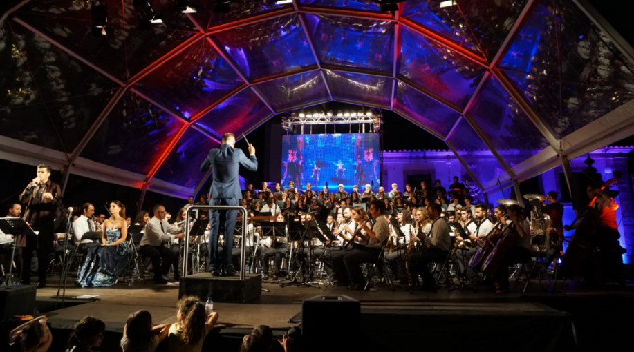 Concerto Sons da Praça: 'Uma praça cheia de sons'