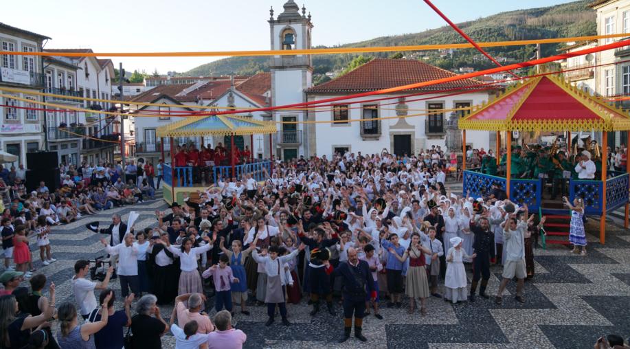 Milhares de pessoas estiveram na Recriação Histórica