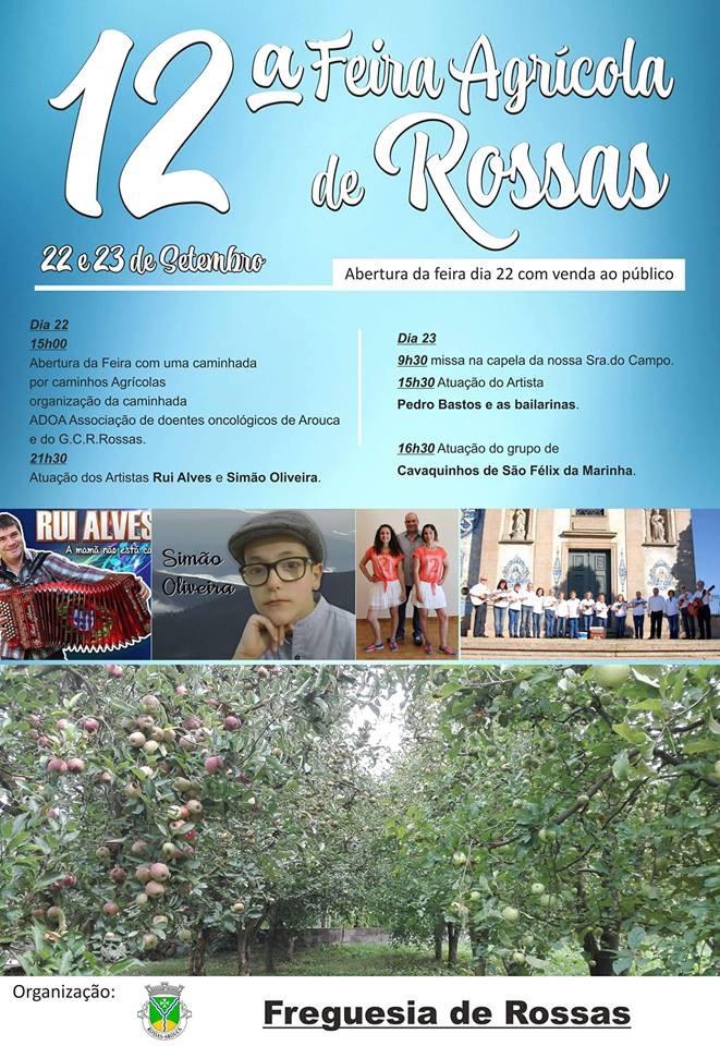 12ª Feira Agrícola de Rossas