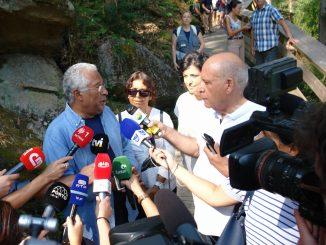 António Costa esteve em Arouca e voltou a prometer a ligação Escariz à A32