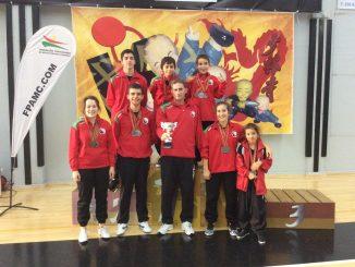 Kung Fu Tradicional: atletas arouquenses Tri-Campeões Nacionais 2018
