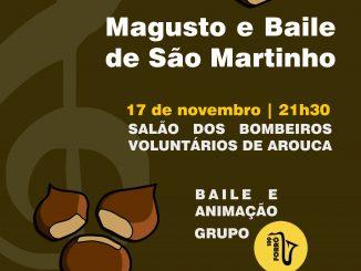 Banda Musical de Arouca promove magusto e baile de S. Martinho