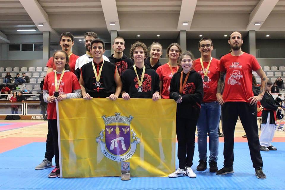 Equipa Leão Vermelho conquistou 3º lugar por equipas no Open de Artes Marciais