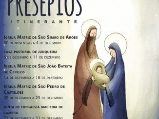 IDOSOS DE VALE DE CAMBRA FAZEM PRESÉPIOS ITINERANTES