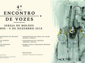 Conjunto Etnográfico de Moldes promove  4.º Encontro de Vozes