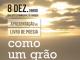"""Livro de poesia """"Como um grão de areia"""" apresentado a 8 de dezembro"""