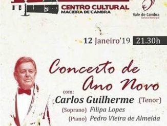 Município de Vale de Cambra promove Concerto de Ano Novo