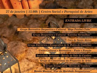VALE DE CAMBRA   20º Encontro Concelhio de Cantares de Janeiras